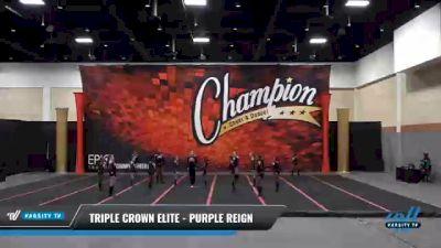 Triple Crown Elite - PURPLE REIGN [2021 L2 Youth - D2] 2021 Wolfpack Championship