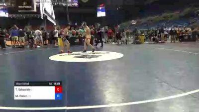 106 lbs Consi Of 8 #1 - Ty Edwards, Illinois vs Matthew Dolan, West Virginia