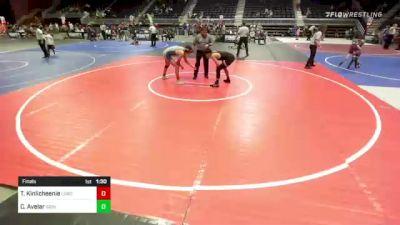 132 lbs Final - Terrell Kinlicheenie, Lobos vs Cesar Avelar, Grindhouse