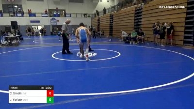 132 lbs Final - Julian Farber, Storm Wrestling Center vs Christian Small, Level Up