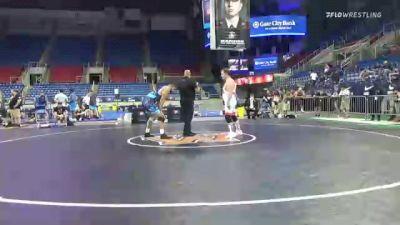 97 kg Rr Rnd 3 - Erik Hinckley, Kansas vs Morgan Smith, Ohio Regional Training Center