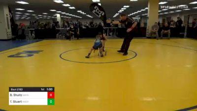 70 lbs Consolation - Brice Shultz, Waynesburg vs Tanner Stuart, Warren