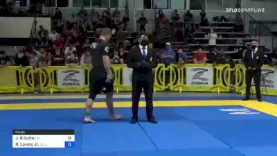 John B Gutta vs Rafael Lovato Jr. 2021 Pan IBJJF Jiu-Jitsu No-Gi Championship