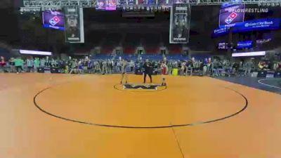 113 lbs Consi Of 8 #1 - Wyatt Engwicht, North Dakota vs Kyison Garcia, Utah