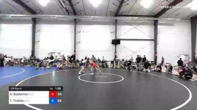 65 kg Prelims - Kendall Bostelman, Wyoming Seminary (W) vs Tayla Tildsley, Doughgirls