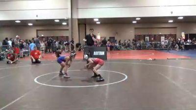 78 lbs Semifinal - Braiden Bartlett, Texas vs Eddie Figueroa, Apex Wrestling Academy