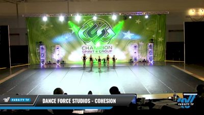 Dance Force Studios - Cohesion [2021 Youth - Hip Hop - Small Day 3] 2021 CSG Dance Nationals