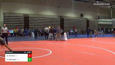 Prelims - Dom Demas, Oklahoma vs Alex Madrigal, George Mason