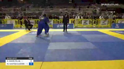 SAVANNAH MARIE ELLIS vs MARYANNA SANTOS CARDOSO 2021 Pan Jiu-Jitsu IBJJF Championship