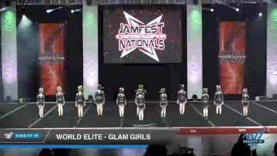 World Elite - Glam Girls [2021 L1 Mini Day 2] 2021 JAMfest Cheer Super Nationals