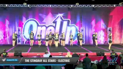 The Stingray Allstars - Marietta - Electric [2021 L6 Senior Coed Open - Small Day 1] 2021 One Up National Championship