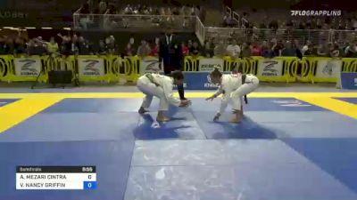 ANDRESSA MEZARI CINTRA vs VANNESSA NANCY GRIFFIN 2021 Pan Jiu-Jitsu IBJJF Championship