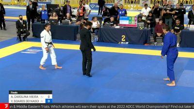 Yara Soares vs Ana Carolina Vieira, Absolute Final, 2021 IBJJF Pan Championship