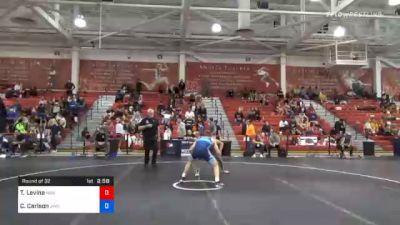 65 kg Prelims - Timothy Levine, New England Regional Training Center vs Clay Carlson, Jackrabbit Wrestling Club