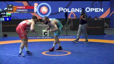 79 kg Quarterfinal -  Mateusz Kampk, POL vs Rashid Kurbanov, UZB