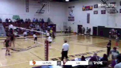 Replay: La Porte vs Lee | Oct 12 @ 6 PM
