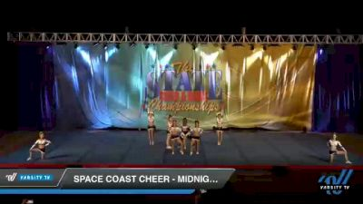 Space Coast Cheer - Midnight [2021 L4.2 Senior Coed - D2 Day 1] 2021 The STATE DI & DII Championships