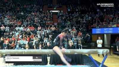 Alexis Vasquez - Beam, Denver - 2019 NCAA Gymnastics Regional Championships - Oregon State