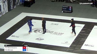 Moldir Mekenbayeva vs Maha Alhinaai 2019 Abu Dhabi Grand Slam Moscow