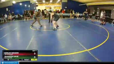 160 lbs Champ. Round 3 - Konlin Weaver, The Outsiders vs Shannon Davie, Eagle Empire