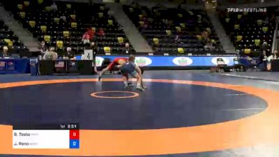 57 kg Consolation - Brody Teske, Panther Wrestling Club RTC vs Jeremiah Reno, Nebraska Wrestling Training Center