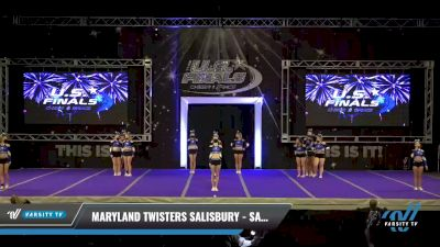 Maryland Twisters Salisbury - SassyCells [2021 L2 Senior Day 2] 2021 The U.S. Finals: Ocean City