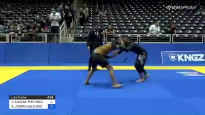 DANIEL EUGENE MARTINEZ vs BRIAN JOSEPH WILKINSON 2021 World IBJJF Jiu-Jitsu No-Gi Championship