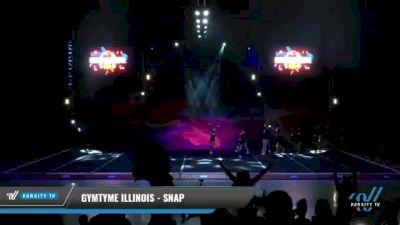 GymTyme Illinois - Snap [2021 L4 Junior - Small Day 2] 2021 GLCC: The Showdown Grand Nationals