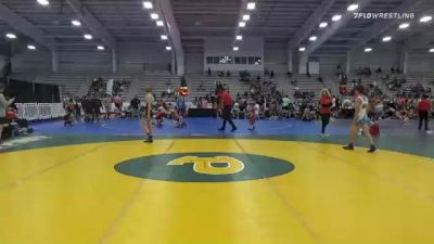 120 lbs Prelims - Elijah Bunn, Flint Tropics vs Jett Strickenberger, Team Shutt North