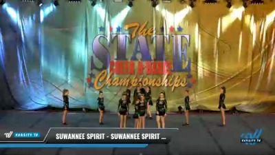 Suwannee Spirit - Suwannee Spirit Emerald [2021 L2 Junior - D2 - Small - A Day 2] 2021 The STATE DI & DII Championships