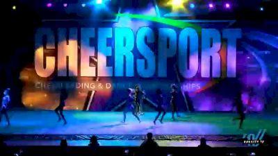 Spirit of Texas - Purple Sass [2021 L3 Senior - Medium Day 1] 2021 CHEERSPORT National Cheerleading Championship