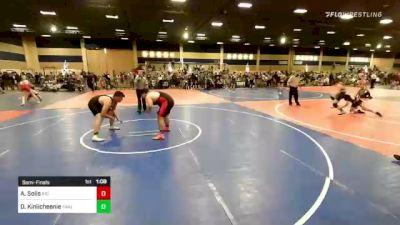 285 lbs Semifinal - Anthony Solis, Rio Mesa vs Devin Kinlicheenie, Painted Desert WC