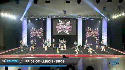 Pride of Illinois - Pros [2021 L2 Junior - D2 - Medium Day 2] 2021 JAMfest Cheer Super Nationals