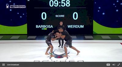 Fabricio Werdum vs. Lucas Barbosa - Spyder BJJ Invitational Super Fight