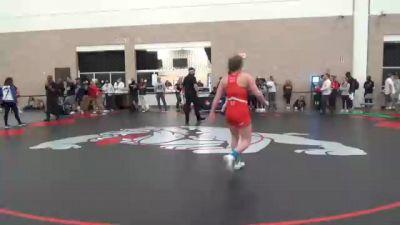 65 kg Consolation - Destiny Lyng, CA vs Felicity Bryant, GA