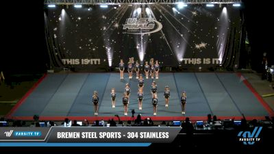 Bremen Steel Sports - 304 Stainless [2021 L1 Junior - D2 - Small Day 2] 2021 The U.S. Finals: Pensacola