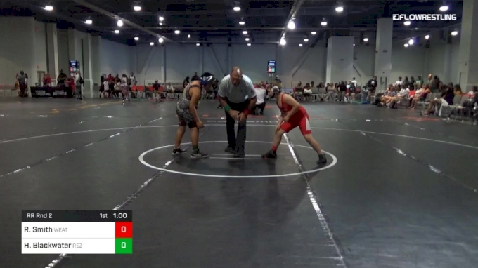Rr Rnd 2 - Ryker Smith, Weatherford Youth Wrestling vs