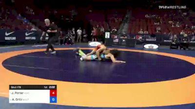 77 kg Semis - Jesse Porter, New York Athletic Club vs Alec Ortiz, Minnesota Storm