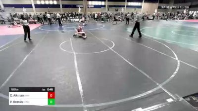 160 lbs Semifinal - Casey Aikman, Ukiah vs Payton Brooks, Afwc