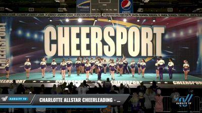 Charlotte Allstar Cheerleading - Storm [2021 L5 Senior Coed Day 1] 2021 CHEERSPORT: Charlotte Grand Championship