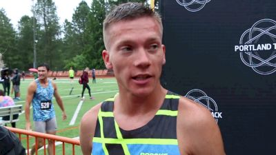 David Ribich After His First Race As A Pro Runner