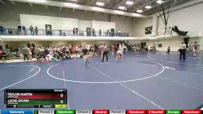 145 lbs Round 1 - Lizzie Shunn, Westlake vs Taylor Martin, Westlake