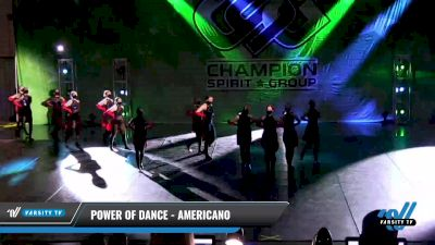 Power of Dance - Americano [2021 Open Kick Day 2] 2021 CSG Dance Nationals