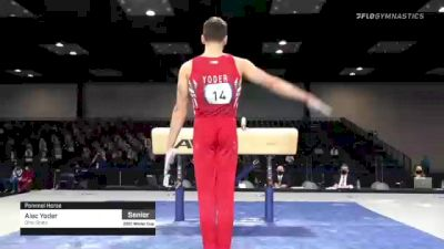 Alec Yoder - Pommel Horse, Ohio State - 2021 Winter Cup & Elite Team Cup