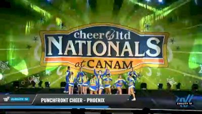 PunchFront Cheer - Phoenix [2021 L6 International Open Coed - Small Day 1] 2021 Cheer Ltd Nationals at CANAM