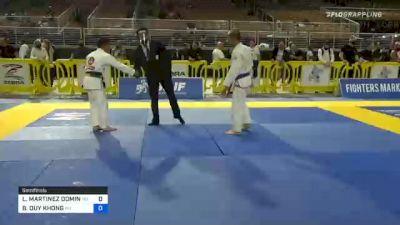 LEONARDO MARTINEZ DOMINGO vs BAOVY DUY KHONG 2020 World Master IBJJF Jiu-Jitsu Championship