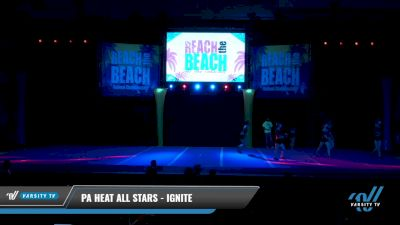 PA Heat All Stars - Ignite [2021 L3 Senior - Small Day 1] 2021 ACDA: Reach The Beach Nationals