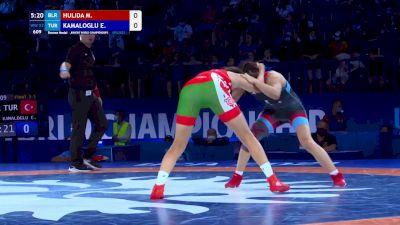 57 kg Final 3-5 - Maryia Hulida, BLR vs Elvira Kamaloglu, TUR