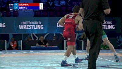 72 kg 1/4 Final - Malkhas Amoyan, Armenia vs Kristupas Sleiva, Lithuania