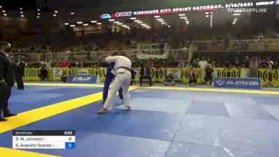 Devhonte M. Johnson vs Guilherme Augusto Soares 2021 Pan Jiu-Jitsu IBJJF Championship